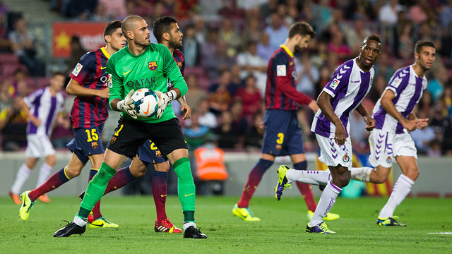 Víctor Valdés plans to leave the Camp Nou at the end of the season / PHOTO: MIGUEL RUIZ-FCB