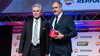 Jupp Heynckes and Andoni Zubizarreta, at the Gran Gala de Mundo Deportivo