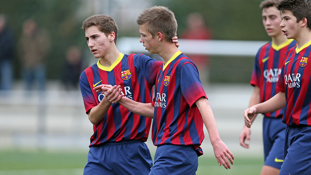 Best goals from Barças youth teams(1-2 February) / PHOTO: FCB