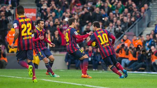 Almeria will visit the Camp Nou on March 2 / PHOTO: GERMÁN PARGA - FCB