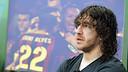 Puyol on Barça TV. PHOTO: MIGUEL RUIZ - FCB