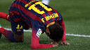 Neymar during the game / PHOTO: MIGUEL RUIZ-FCB
