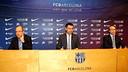 Bartomeu, Faus and Arroyo / PHOTO: MIGUEL RUIZ - FCB