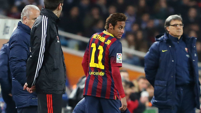 Neymar Junior at Anoeta Stadium / PHOTO: MIGUEL RUIZ - FCB