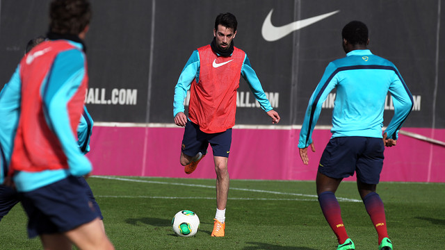 Isaac Cuenca / PHOTO: MIGUEL RUIZ - FCB