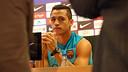 Alexis Sánchez ha comparegut davant els mitjans de comunicació / FOTO: MIGUEL RUIZ - FCB