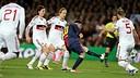 Leo Messi vs AC Milan / PHOTO: MIGUEL RUIZ-FCB