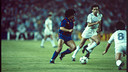 Maradona against Real Madrid / PHOTO: ARXIU FCB