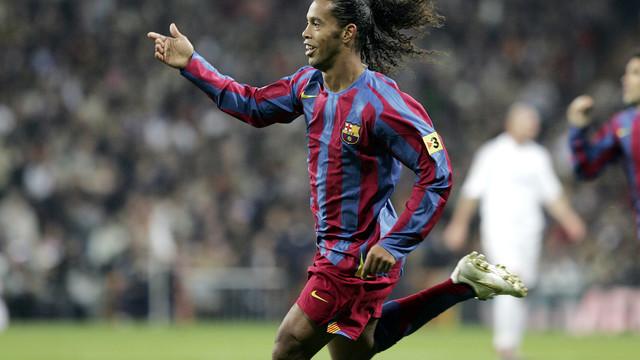 Ronaldinho / PHOTO: MIGUEL RUIZ-FCB