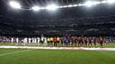 Madrid i Barça, abans del partit / FOTO: MIGUEL RUIZ-FCB