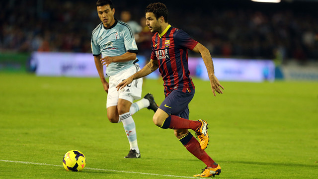 Celta haven't drawn a single away game/ PHOTO: MIGUEL RUIZ-FCB
