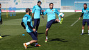 The squad will have five training sessions this week / PHOTO: MIGUEL RUIZ-FCB