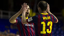 Barça defeat Zaragoza / FOTO: ARCHIVE FCB