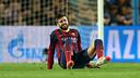 Piqué ha notat unes molèsties i ha forçat el canvi. / FOTO: MIGUEL RUIZ-FCB