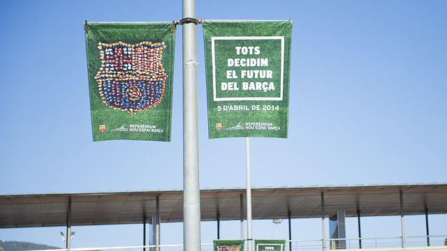 FC Barcelona want as many members as possible to cast their votes / PHOTO: VÍCTOR SALGADO - FCB
