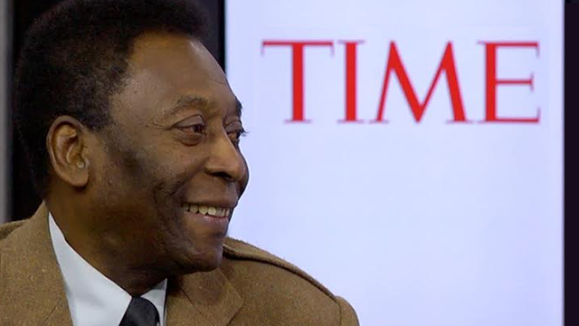 Pele, the legendary Brazilian