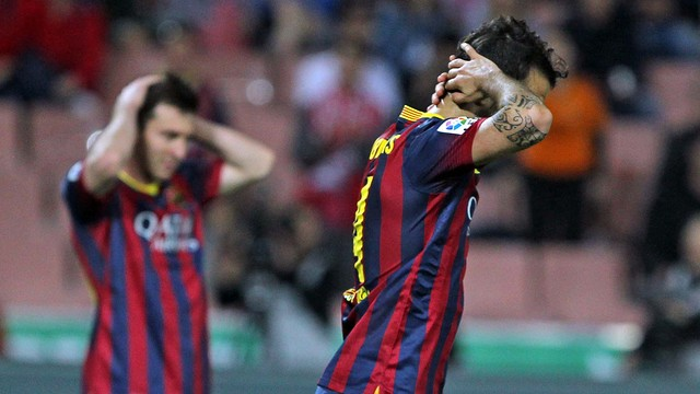 It was a frustrating night for FC Barcelona / PHOTO: MIGUEL RUIZ-FCB