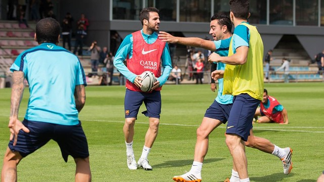 Cesc. Training session 15/04/2014