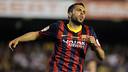 Jordi Alba es lesiona al primer temps de la final de la Copa del Rei / FOTO: MIGUEL RUIZ - FCB