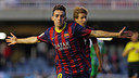 A Munir goal in the Mini. PHOTO: MIGUEL RUIZ-FCB.