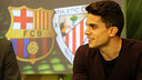 Marc Bartra on Barça TV / PHOTO: MIGUEL RUIZ-FCB