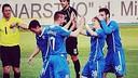 Halilovic scored the fourth goal of the decisive match / PHOTO: halil9999 (Instagram)