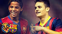 Gio dos Santos and Joan Roman both have Barça pasts