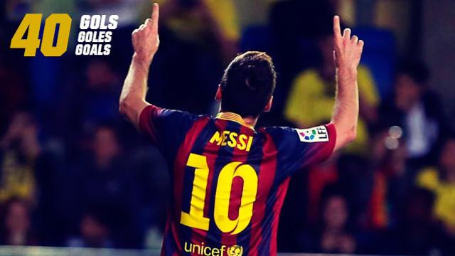 40 Messi.