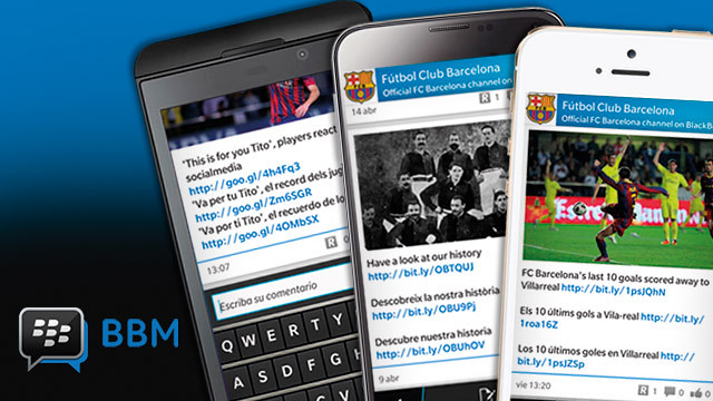 FCB's BBM Channel
