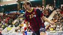 Viran Morros, du FCB Handball / Photo Victor Salgado