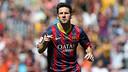 Messi celebrates his goal against Getafe / PHOTO: MIGUEL RUIZ-FCB