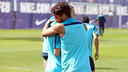 Dos Santos and Iniesta / PHOTO: MIGUEL RUIZ-FCB