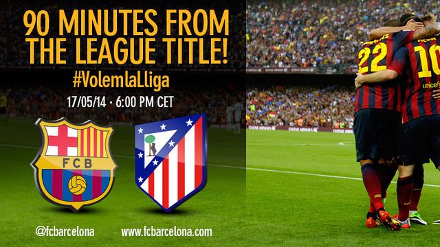 FC Barcelona v Atletico Madri #volemlaLliga