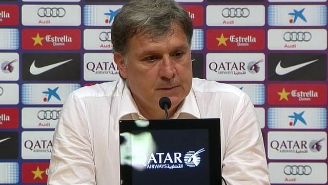 Tata Martino / FOTO: FCB
