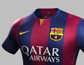 La nova primera samarreta del Barça