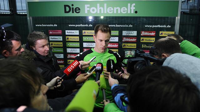 Ter Stegen . PHOTO: Borussia Mönchengladbach.