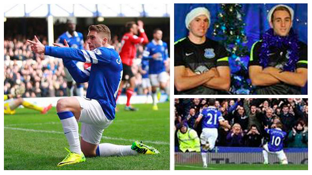 Images of the message of thanks from Everton / PHOTO: Twitter Everton