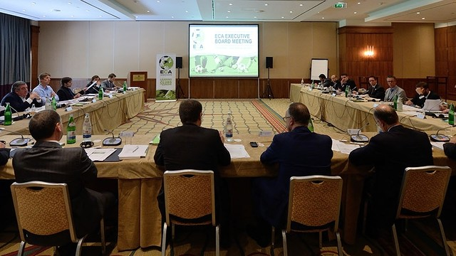 Image of the meeting in Lisbon this Saturday. PHOTO: ECA