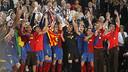 Barça win the Champions League in Rome
