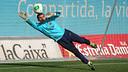 Jordi Masip, en un entrenament
