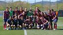 Women's team secure their third straight league title / PHOTO: archive FCB