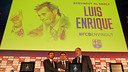 Luis Enrique, Zubizarreta and Bartomeu at the presentation of the new manager / PHOTO: MIGUEL RUIZ-FCB