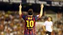 Messi in the Mestalla / PHOTO: MIGUEL RUIZ-FCB