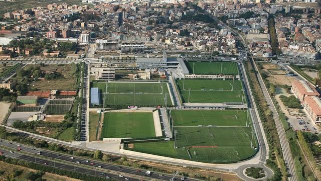 The Ciutat Esportiva from above / PHOTO: ARXIU FCB