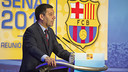 Bartomeu speaks to the Senate / PHOTO: VÍCTOR SALGADO-FCB
