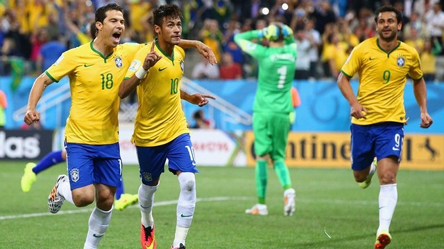 Neymar scored twice against Croatia. PHOTO: fifa.com