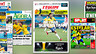 Collection of newspaper front pages about Brazil and Neymar