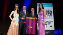 Bartomeu, picking up the award. PHOTO:GERMÁN PARGA - FCB