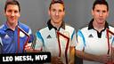 Triple 'Joueur du Match' de Leo Messi