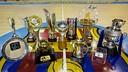 The titles at the Palau. PHOTO: G. PARGA - FCB
